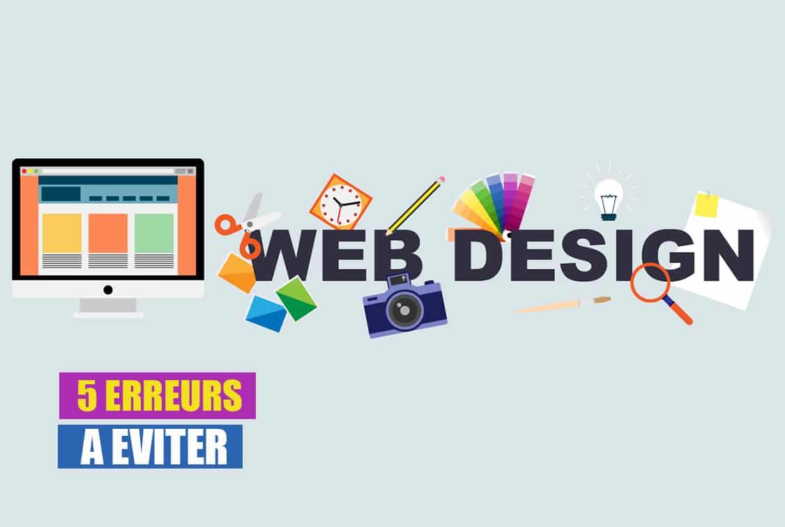 Web design 5 erreurs graphiques à éviter